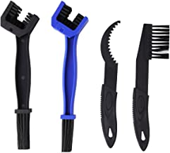 calary 4Pcs Bicycle Cleaning Brush Tool Bike Chain Brush for Cycling Bikes, Motorcycles