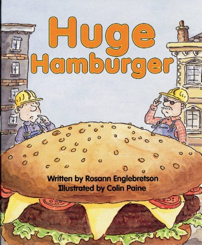 Ready Readers, Stage ABC, Book 29, Huge Hamburger, Big Book