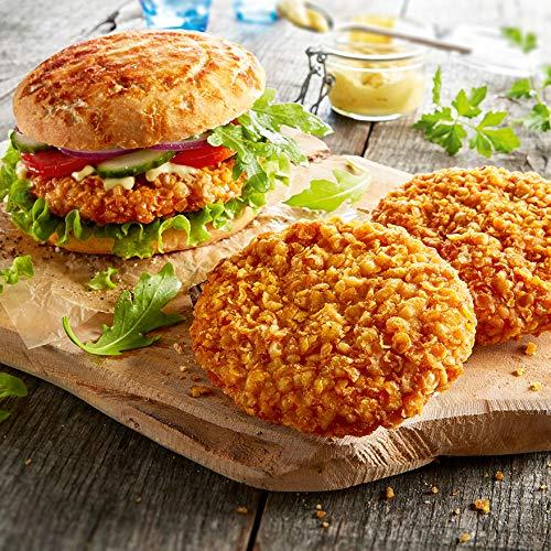 Besser Crunchy-Chicken-Burger; 650 g, 5 Stück