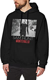 DeclanI Sam Hunt Montevallo Men's Hoodies Hooded Sweatshirt Black