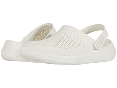 Crocs LiteRide Clog (Almost White/Almost White) Shoes