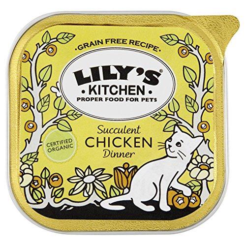 LILYS KITCHEN Proper Cat Food Organic Dinner
