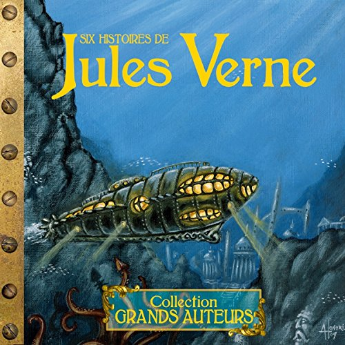 Six histoires de Jules Verne audiobook cover art