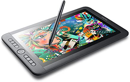 "Parblo Coast13 13.3"" IPS 1920x1080 Graphic Tablet Drawing Monitor with 8 Customizable Keys and Battery-Free Passive Pen + USB Type C Cable"