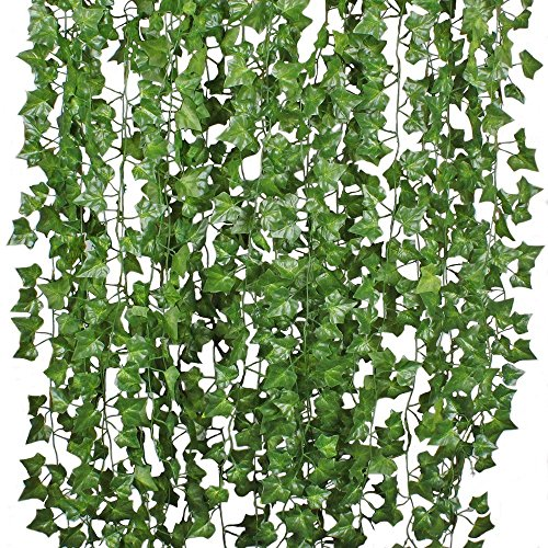 DearHouse Artificial Ivy - 12 Strands - 84 ft.