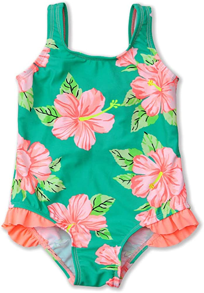 HZYBABY Toddler Baby Girls Phoenix Mall One-Piece gift Swimsuit Print Cute Floral