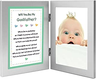 Poetry Gifts Will You Be My Godfather Gift from Godson or Goddaughter, Add Godchild Photo