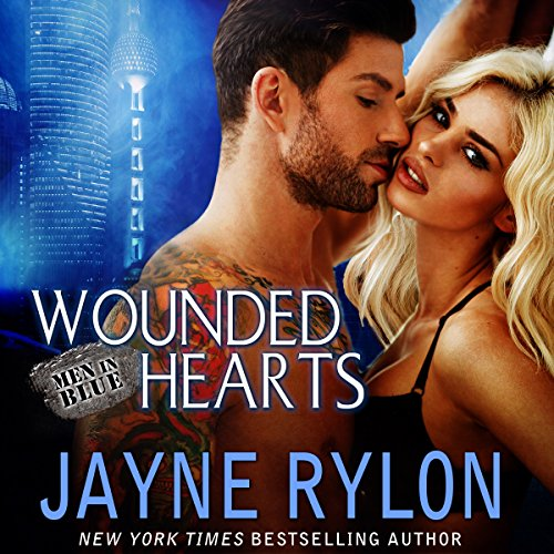 Wounded Hearts audiobook cover art