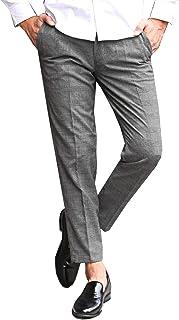 LUX STYLE(ラグスタイル) トラウザー パンツ スラックス メンズ チェック イージー