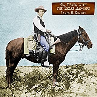 Six Years with the Texas Rangers audiobook cover art