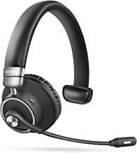 Bluetooth Headset 5.0, Pro 24 Hrs Talktime Noise Cancelling Wireless Headset with Mute..