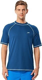 Speedo Men's UPF 50+ Easy Short Sleeve Rashguard Swim Tee