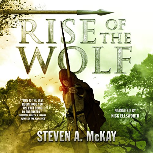 Rise of the Wolf audiobook cover art