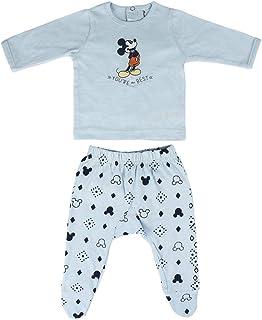 Conjunto Ropa Disney Bebe de Mickey Mouse Juego de Pijama para Bebés