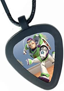 Toy Story Buzz Lightyear Pickbandz Mens or Womens Real Guitar Pick Necklace