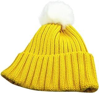 Luoistu Toddler Baby Knit Hat Scarf Set Winter Warm Beanie Cap for Boys Girls 1-3 Years