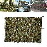 Yuany Camouflage Net Protezione solare Protezione solare Protezione solare Net Ombra Net Tessuto Oxford per Bambini Campeggio Decorazione nascosta Outdoor Woodland Jungle Hidden Hunting