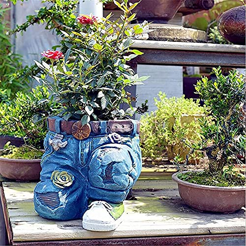 PHLPS 2 stücke Jeans Harz Pflanze Blume...