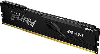 Kingston Fury Beast 8 GB 3600 MHz DDR4 CL17 Desktop Memory Single Module KF436C17BB/8