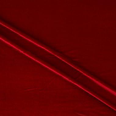 Stretch Velvet Red (12 Yard Bolt)