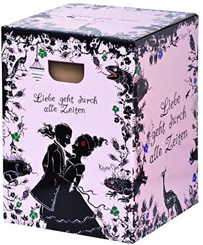 Rubinrot - Saphirblau - Smaragdgrün - Papphocker: Liebe geht durch alle Zeiten (Kerstin Gier Fantasy-Romane)