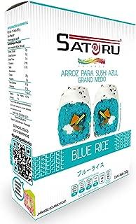 Satoru Arroz Tipo Japonés, color Azul, 300 g