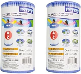 Intex 29000E/59900E Easy Set Pool F24Sd Replacement Type A or C Filter Cartridge - (Pack of 2)