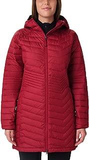 Columbia Women's Powder LITE MID Jacket Omni Heat-Beet Large