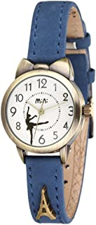 Soft Leather Strap Girl's Students Quartz Wrist Watches for Female Cute Bowknot Case