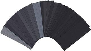 Sand Paper, Sandpaper, Sander Sheets 120 to 3000 Assorted Grit Sanding paper, 9 x 3.6..