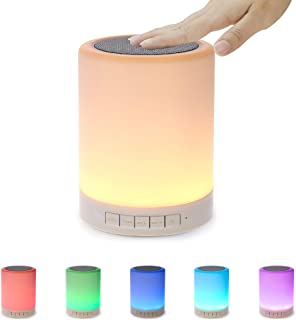 SHAVA Night Light Bluetooth Speaker, Portable Wireless Bluetooth Speakers, Bedside Lamp,..
