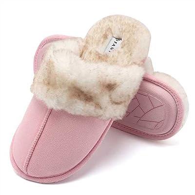 CIOR Fantiny Women's Memory Foam Slippers Faux...