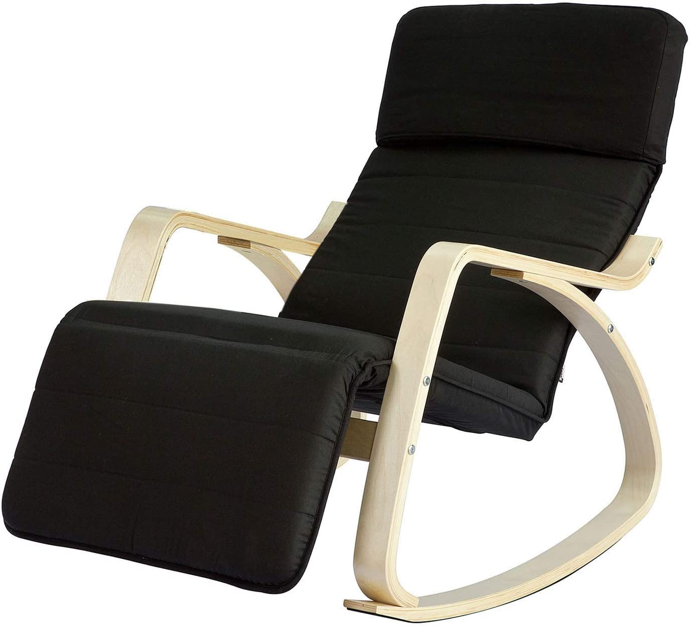 Haotian Deluxe FST16-SCH Comfortable List price Relax Rocking with Foot Chair Rest