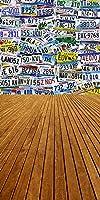 GladsBuyプレート番号壁10' x 20'コンピュータ印刷写真バックドロップテーマ壁背景s-1094