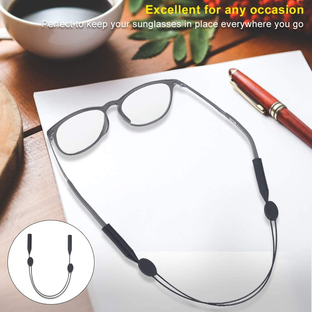 Sports Strap Replacement for Glasses,Anti-slip Sports Glasses Strap Cord Eyeglasses Band Rope String Holder
