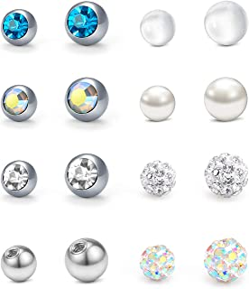 belly button ring ball replacement