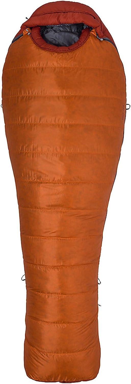 Marmot Never Summer Daunenschlafsack (Herren bis -20,4°C max. Liegelnge 183cm   Gewicht 1,45kg)