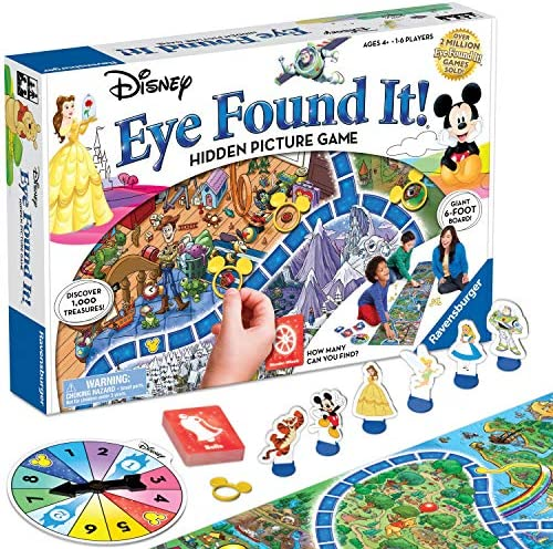 Wonder Forge Richard Scarry's Busytown, Eye Found It Toddler Toy and Game for Boys and Girls Age 3 and Up - A Fun Preschool Board Game,Multi-colored