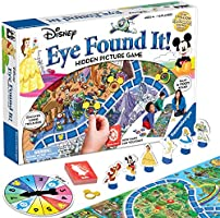 Ravensburger World of Disney Eye Found It Board Game for Boys and Girls Ages 4 and Up - A Fun Family Game You'll Want to...