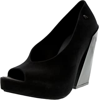 Melissa Black Heel For Women, Black, Size 10 US