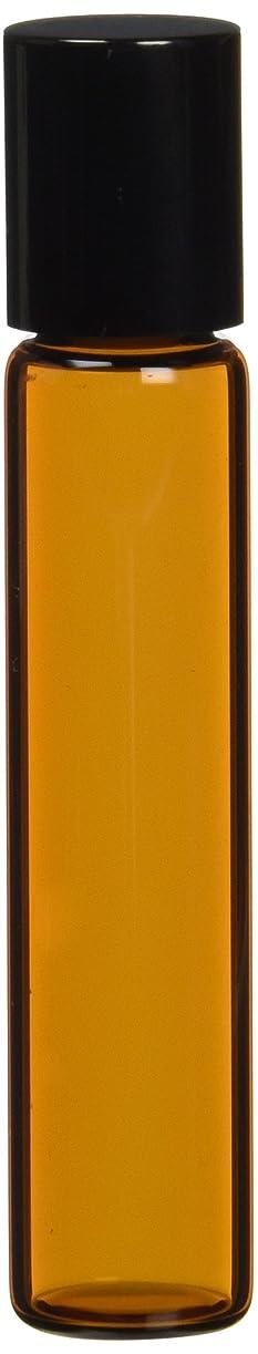 リフレッシュ踏み台茶色遮光ガラスロールオンボトル7ml