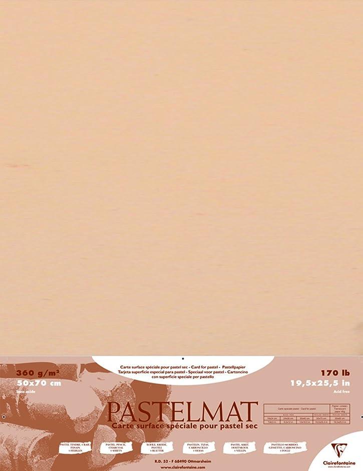 Pastelmat Card for Pastel - 19.5 x 27.5 Inch Sheet - Maize Single Sheet