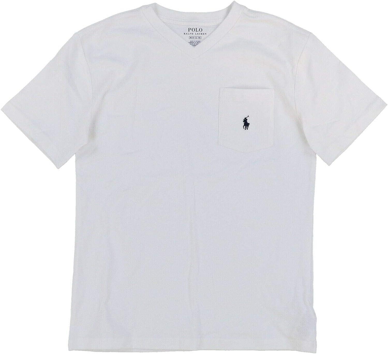 Polo Ralph Lauren Boys Short Sleeve Pocket T-Shirt