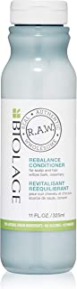 BIOLAGE R.A.W. Scalp Care Rebalance Conditioner for Scalp and Hair with Willow Bark and Rosemary, 11 fl. oz.