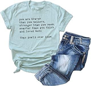 inspirational women's t shirts