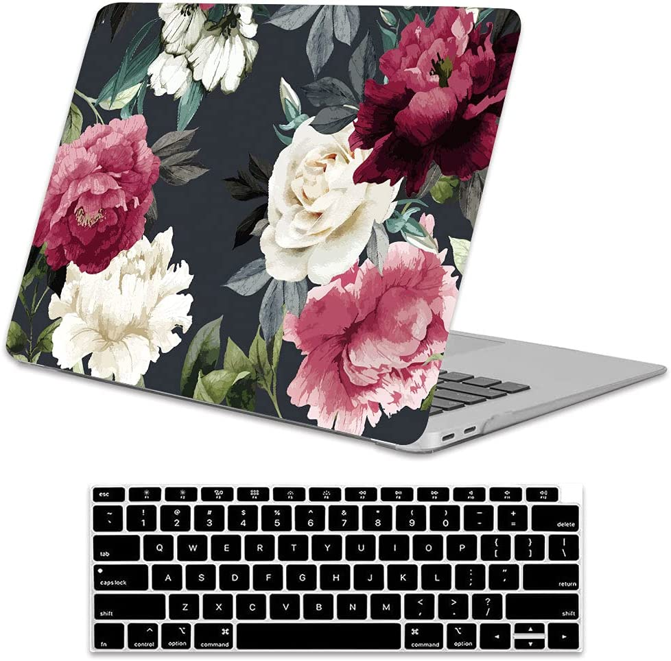 Lapac Free shipping anywhere in the nation High material Compatible with MacBook Air 13 Inch Flower Case 2020 2019