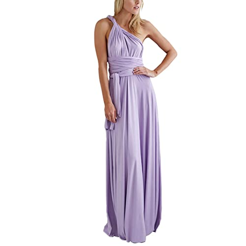 475b91d713b PERSUN Women s Convertible Multi Way Wrap Maxi Dress Long Semi Formal Party  Long Dresses