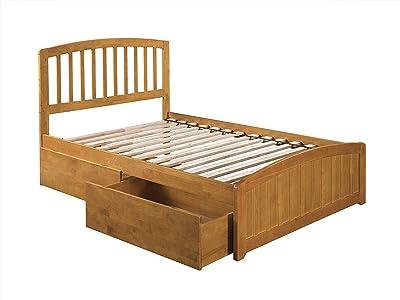 Amazon Com Zinus 12 Inch Solid Wood Platform Bed With
