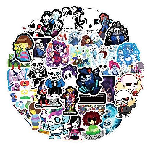 QICHE 10/30/50 Uds Juego Caliente Fondo Graffiti Pegatina Equipaje portátil Graffiti Pegatina Coche Regalo Pegatina de Dibujos Animados