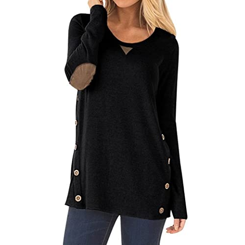 d4f76c731 Elbow Patch Sweater for Women  Amazon.com